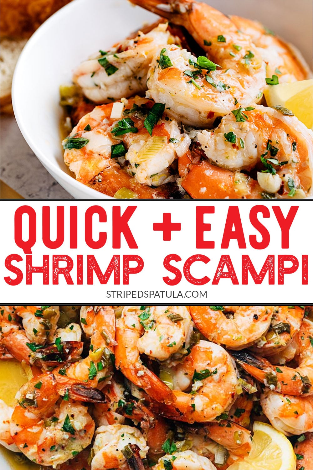 how to make the best broiled shrimp scampi