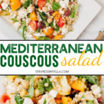 how to make mediterranean pearled couscous salad
