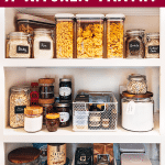 organize kitchen pantry DIY guide