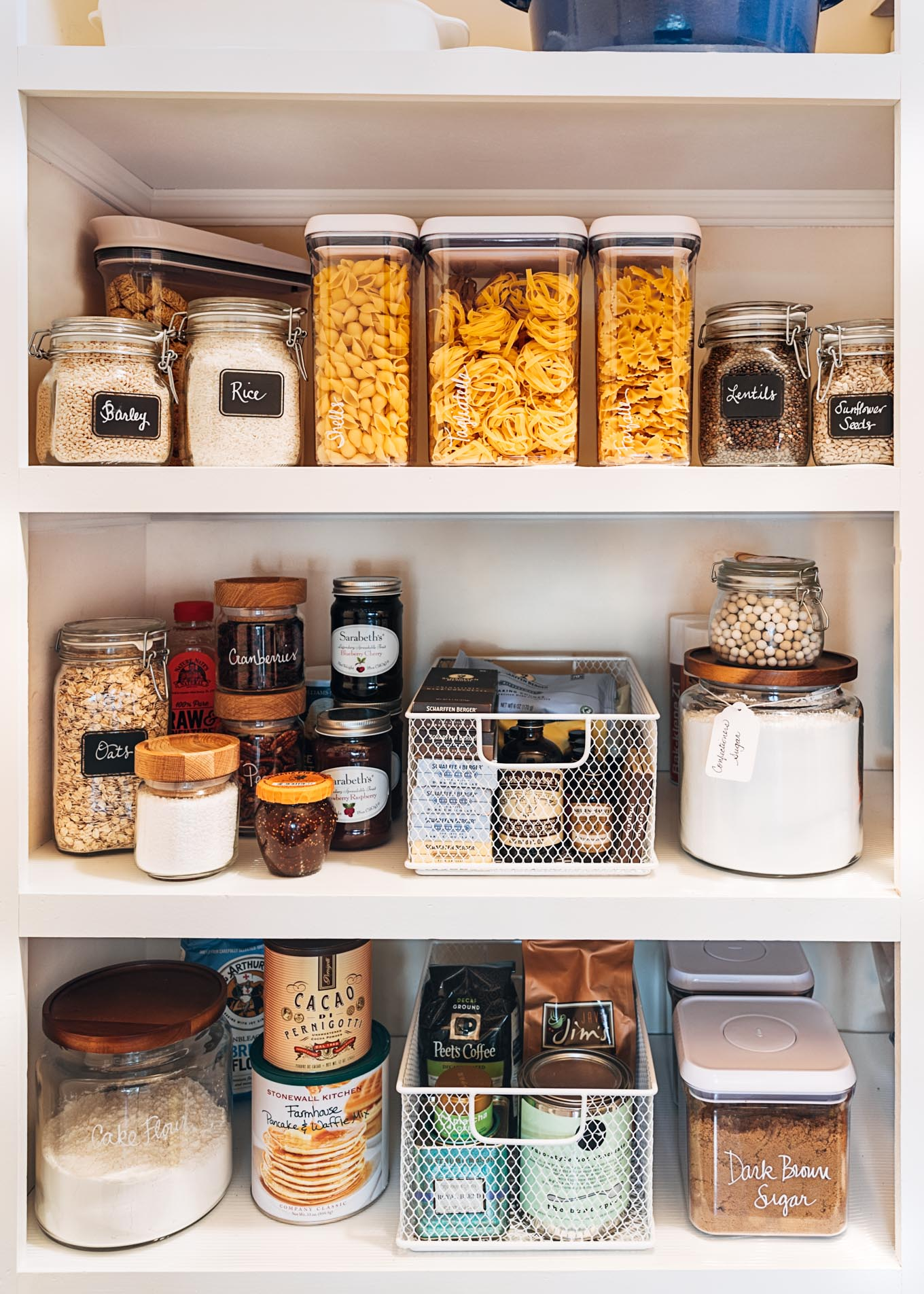 How to Organize a Pantry (And Enjoy Doing It!) | Striped ...