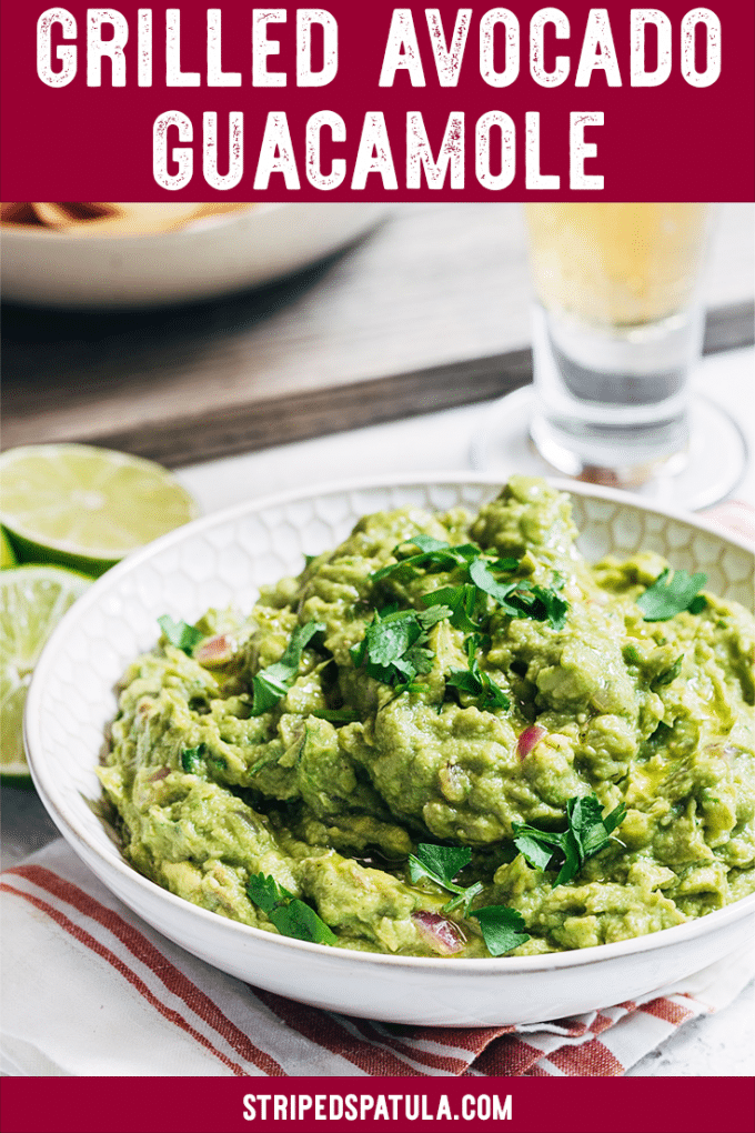 how to make grilled avocado guacamole