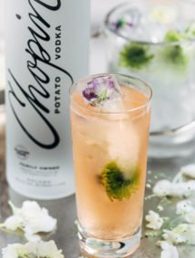 Chopin Spring Equinox vodka cocktail