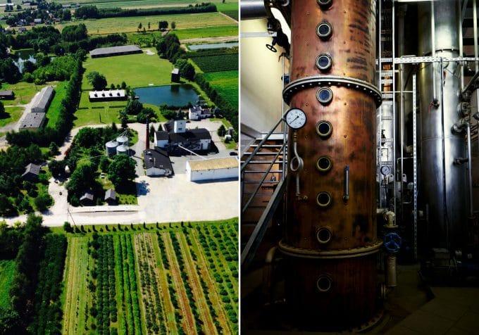 chopin vodka distillery and copper still