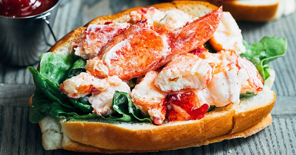 Maine Lobster Rolls Lobster Salad Rolls Striped Spatula