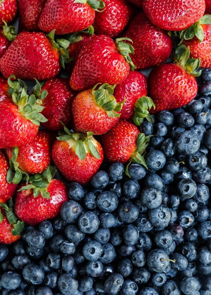 California Giant Berry Farms Strawberries and Blueberries {sponsored}