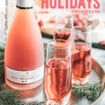 how to entertain with rose wine during the winter holidays