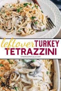 how to make turkey tetrazzini with leftover turkey