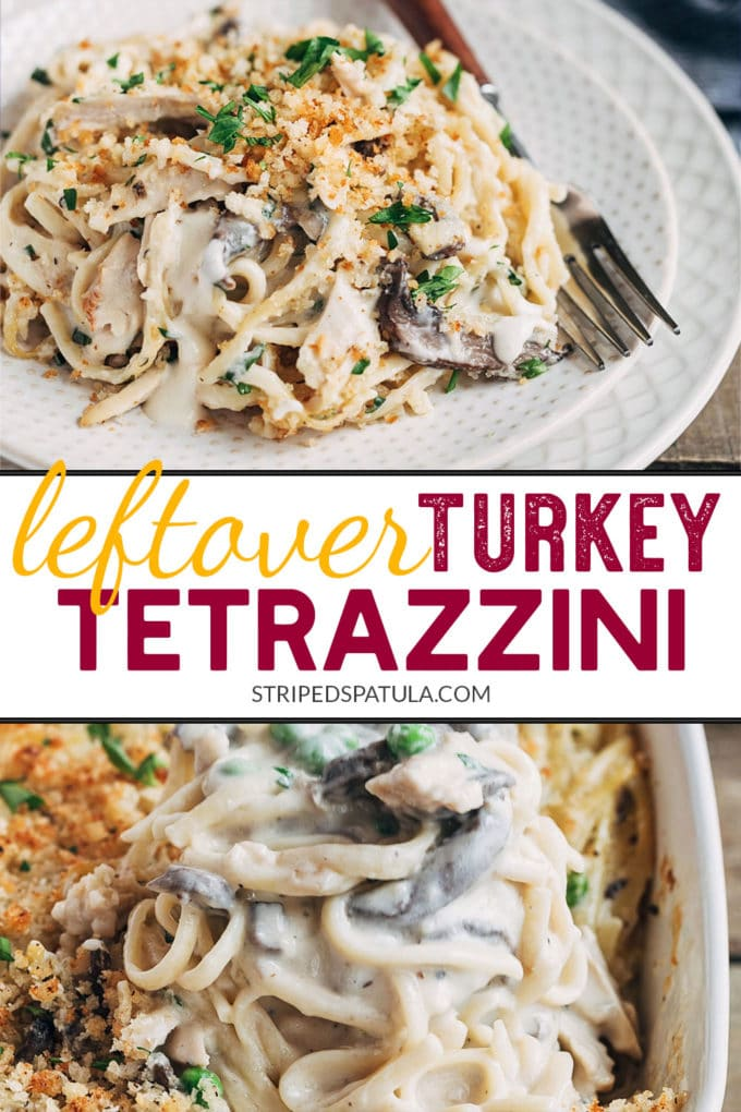 how to make turkey tetrazzini with leftover turkey