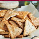 how to make homemade pita chips