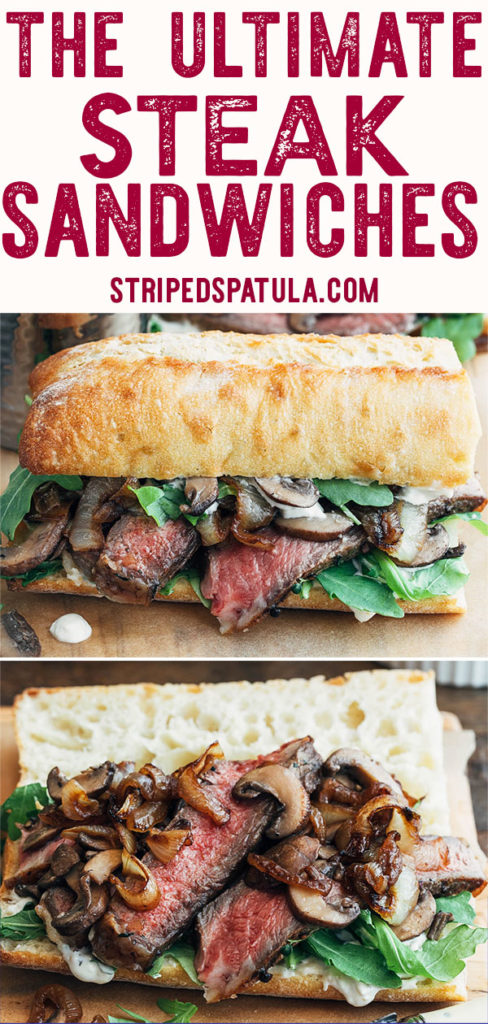 how to make gourmet steak sandwiches