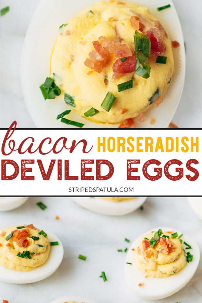 how to make bacon deviled eggs
