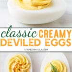 how to make classic deviled eggs
