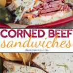 how to make cold corned beef sandwiches