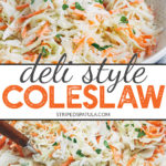 how to make creamy coleslaw