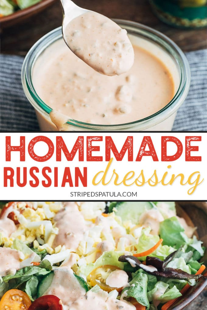 how to make homemade Russian dressing