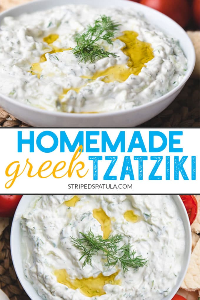 how to make homemade Greek-style tzatziki