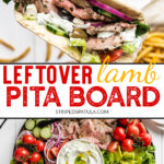how to make pitas with leftover lamb