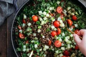 spring subscribers bonus tabbouleh salad