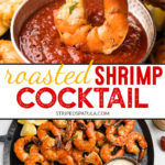 {sponsored} how to make roasted shrimp cocktail