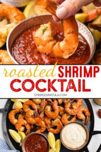 {sponsored} how to make roasted shrimp cocktail