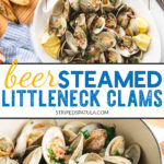 how to make beer steamed clams