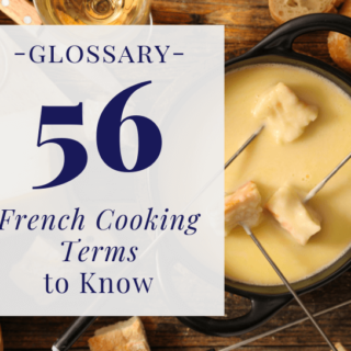 French cooking terms glossary