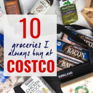 Best grocery picks for Costco shopping lists