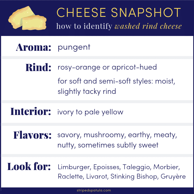 washed rind cheese guide