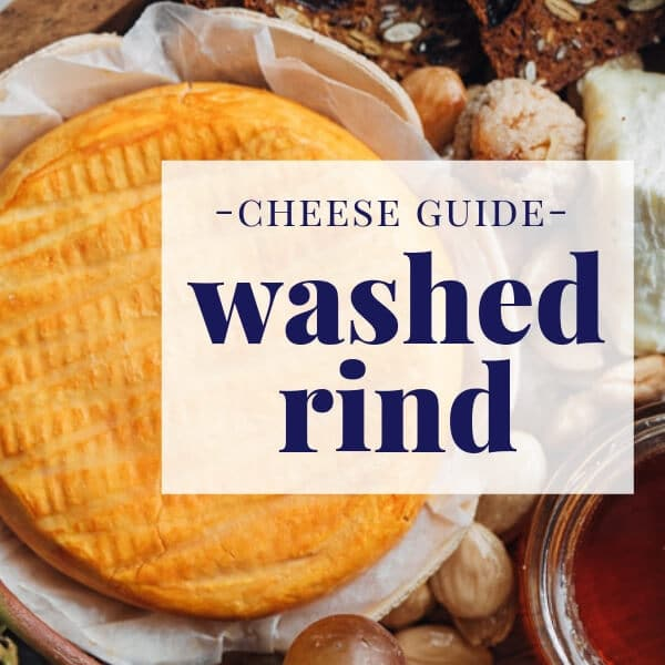 all about washed rind cheese