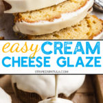 how to make cream cheese glaze