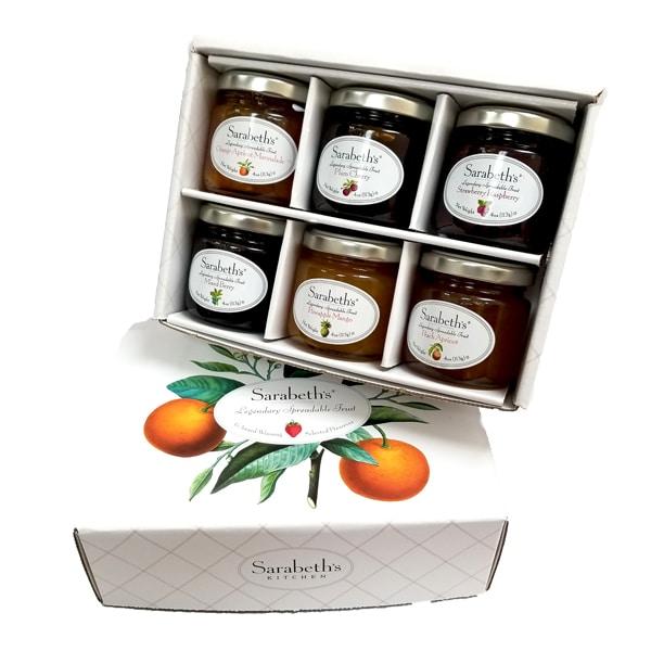sarabeth's preserves sampler gift box