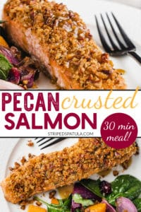 how to make pecan crusted salmon