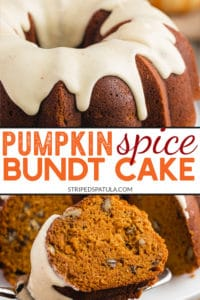 how to make pumpkin spice bundt cake