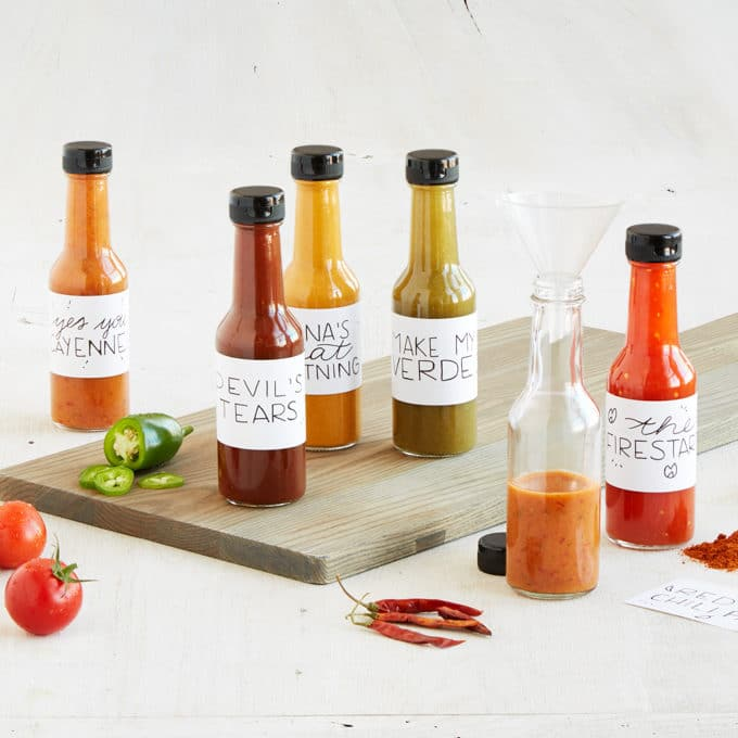 UncommonGoods make your own hot sauce kit