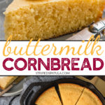how to make buttermilk cornbread in a skillet
