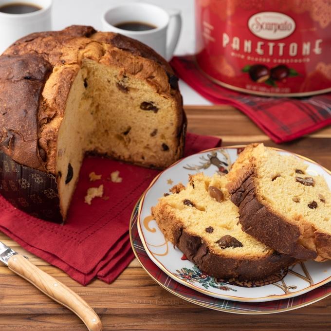 Scarpato glazed chestnut panettone