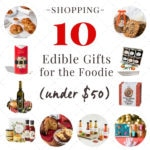 10 delicious foodie gifts under $50