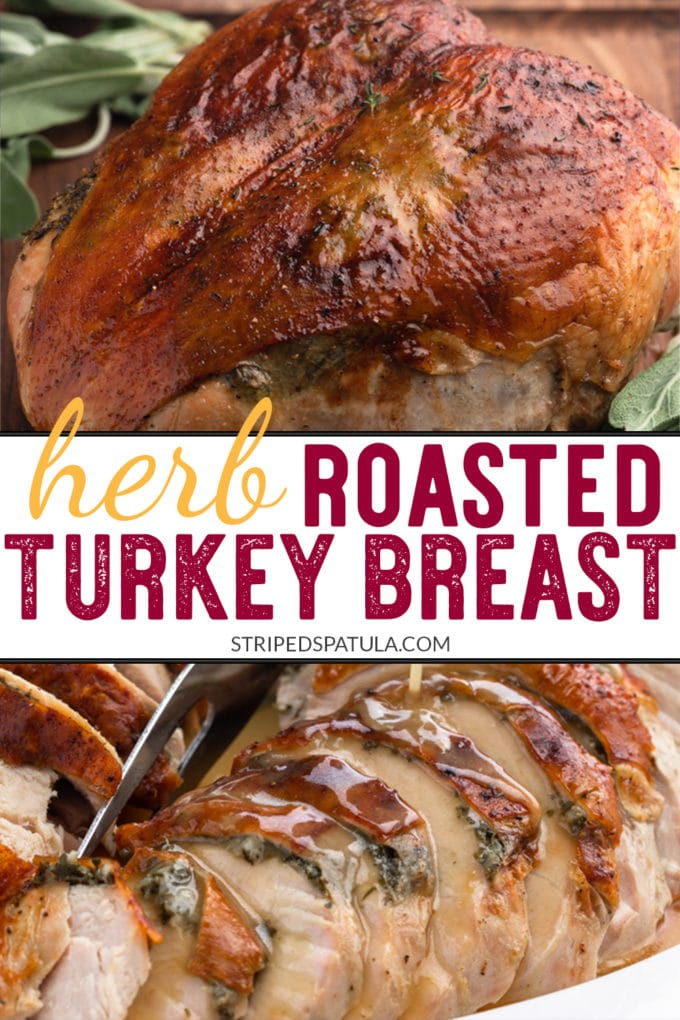 how to make an herb roasted turkey breast