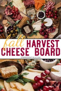how to make the ultimate fall cheese board for Thanksgiving