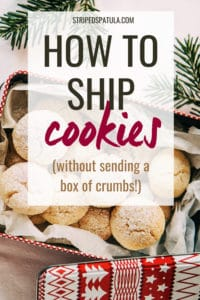 how to ship cookies without sending crumbs