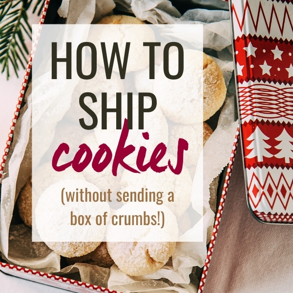 tips for shipping cookies for holiday gifts