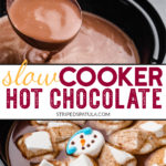 how to make hot chocolate in a slow cooker