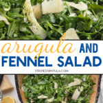 how to make arugula salad