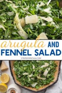 how to make arugula salad