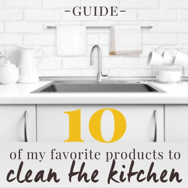 10 great cleaning products for the kitchen
