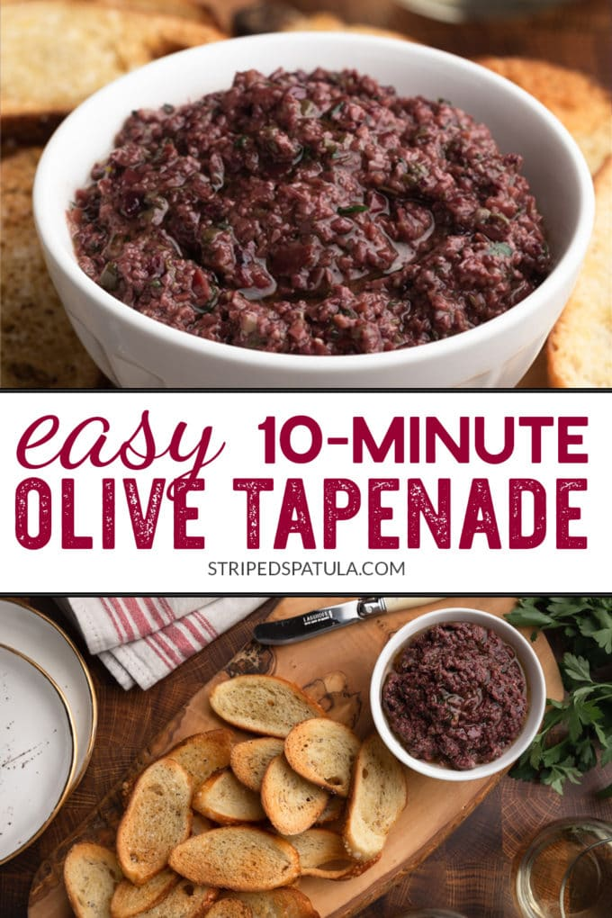 how to make olive tapenade