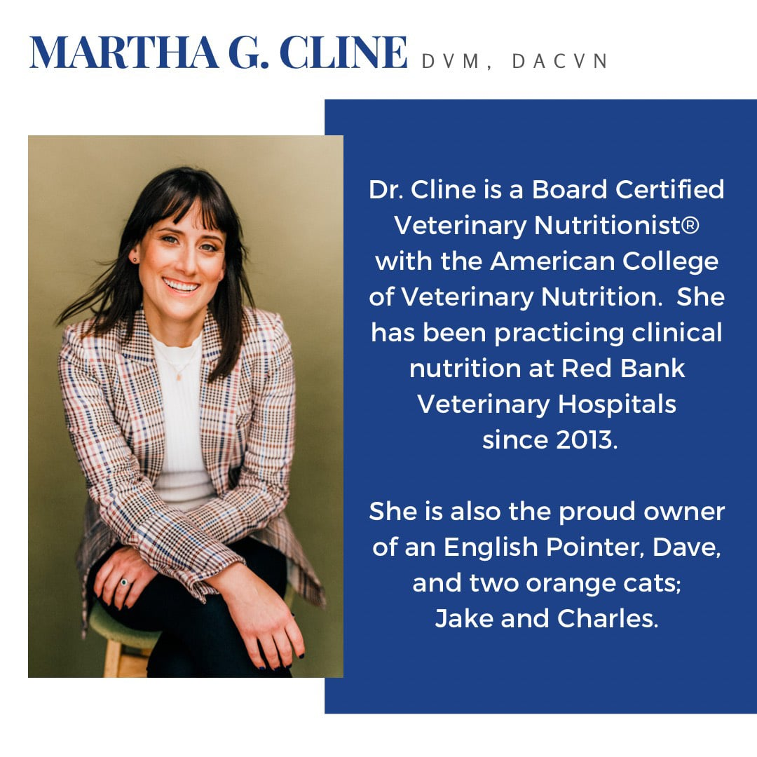 Martha Cline, DVM, DACVN bio