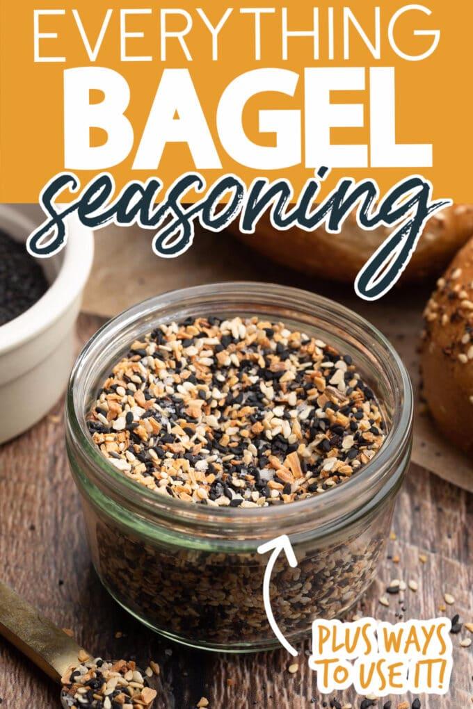 how to make everything bagel seasoning