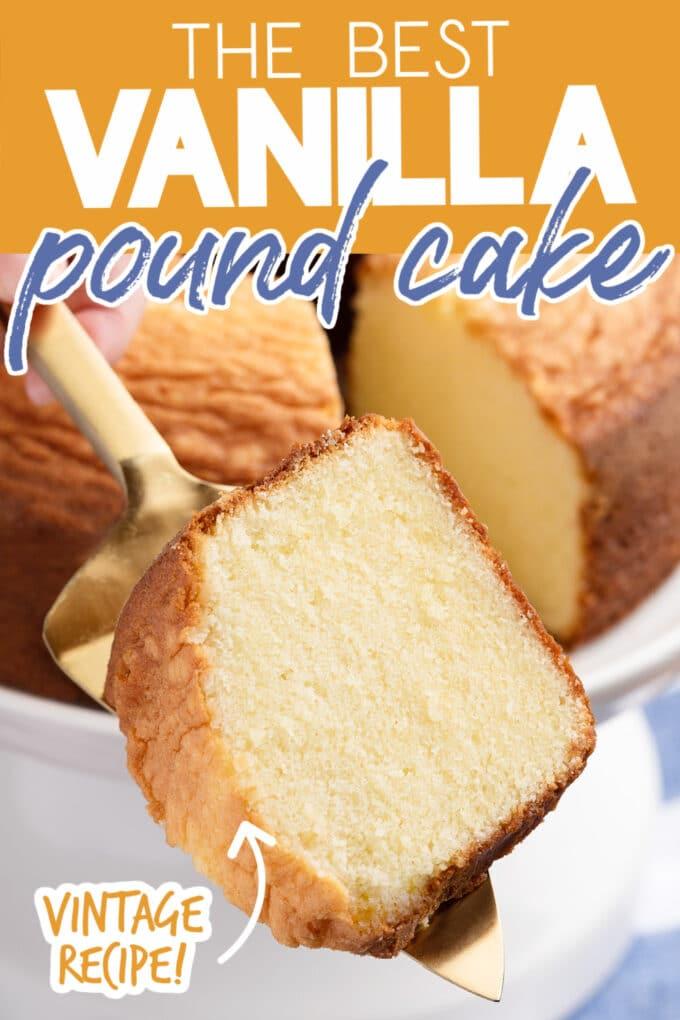 how to make vanilla pound cake